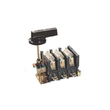 Interruptor corte en carga 4P 160A + fusibles